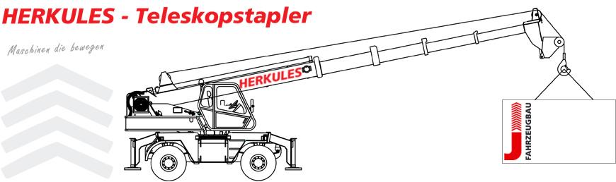 HERKULES Teleskopstapler | Jakob Fahrzeugbau
